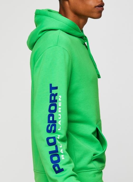 Vêtements Polo Ralph Lauren Sweatshirt Hoodie Polo Sport Vert vue face