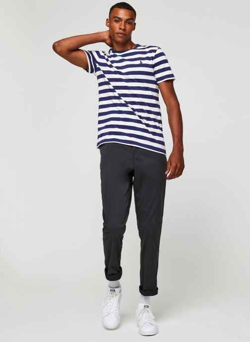 Vêtements Polo Ralph Lauren T-Shirt MC Jersey Pony Blanc vue bas / vue portée sac