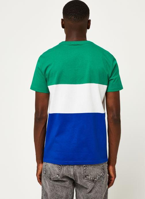Vêtements Polo Ralph Lauren T-Shirt MC Jersey Polo Sport Pony Vert vue portées chaussures