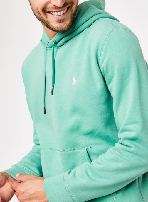Vêtements Polo Ralph Lauren Sweatshirt Hoodie Magic Fleece Pony Vert vue face