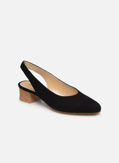 Zapatos de tacón Anne Thomas Michèle Slingback Negro vista de detalle / par