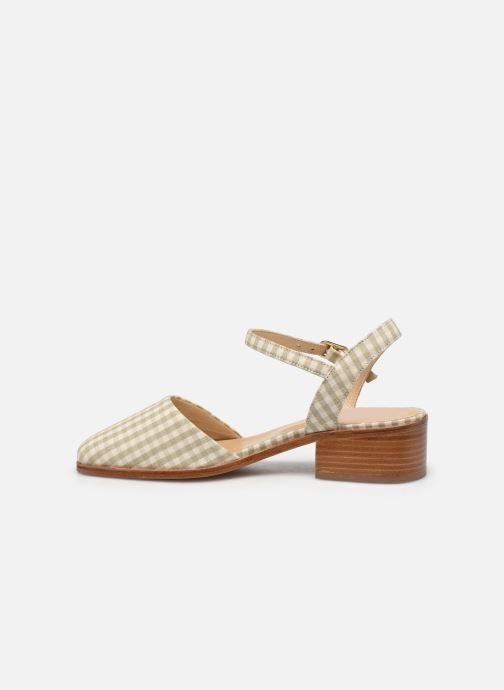 Sandali e scarpe aperte Anne Thomas Morris Buckle Beige immagine frontale