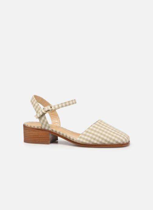 Sandali e scarpe aperte Anne Thomas Morris Buckle Beige immagine posteriore