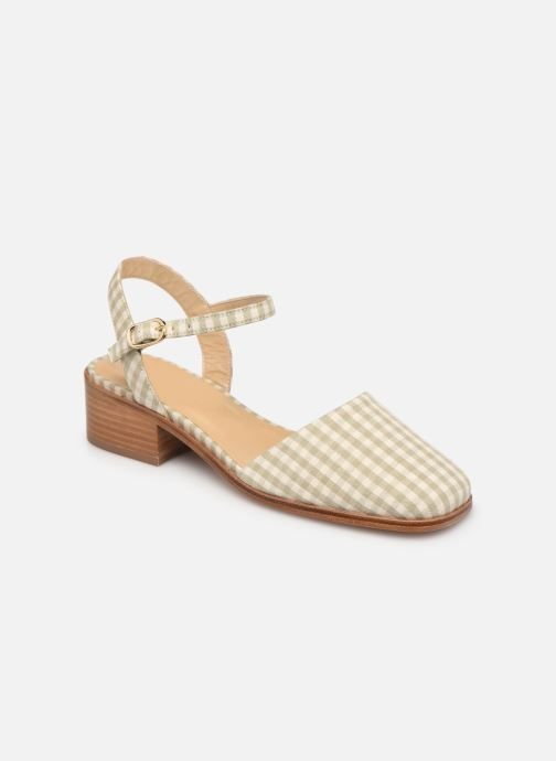 Sandali e scarpe aperte Anne Thomas Morris Buckle Beige vedi dettaglio/paio