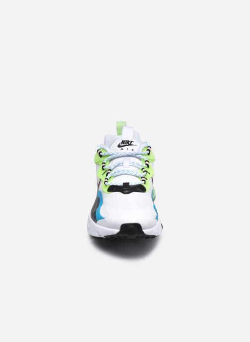 Sneaker Nike Air Max 270 React Se (Gs) weiß schuhe getragen