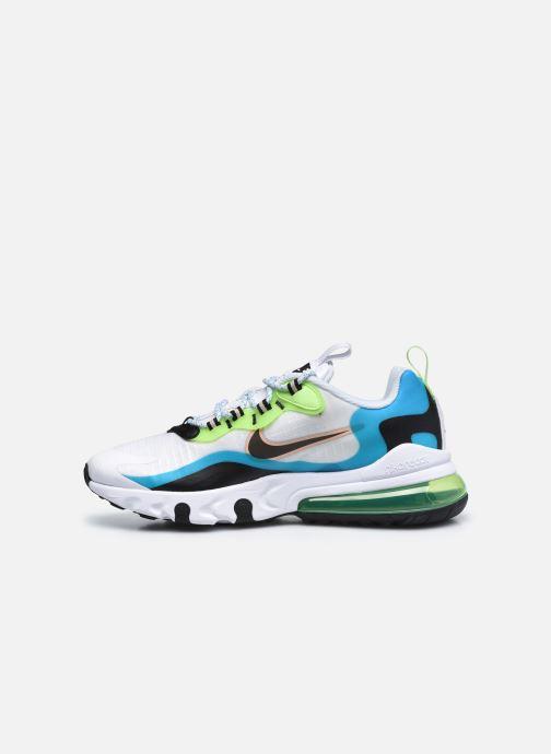 Sneaker Nike Air Max 270 React Se (Gs) weiß ansicht von vorne