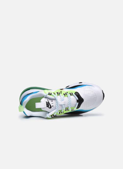 Sneaker Nike Air Max 270 React Se (Gs) weiß ansicht von links
