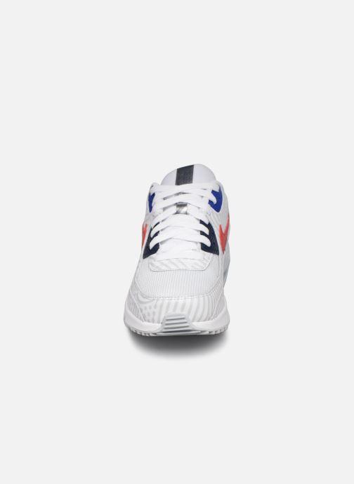 Sneaker Nike Nike Air Max 90 Gs weiß schuhe getragen