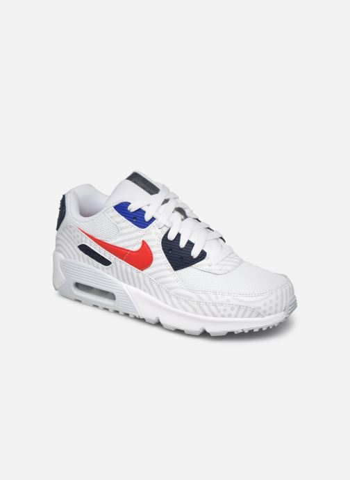 Sneaker Nike Nike Air Max 90 Gs weiß detaillierte ansicht/modell