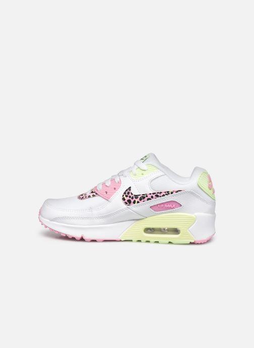 Sneaker Nike Nike Air Max 90 Gs weiß ansicht von vorne