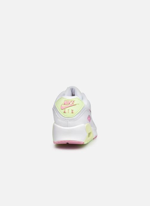 Baskets Nike Nike Air Max 90 Gs Blanc vue droite