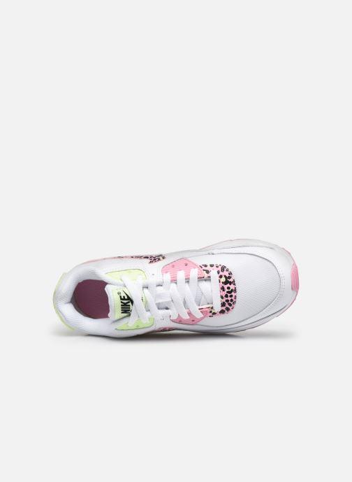 Sneaker Nike Nike Air Max 90 Gs weiß ansicht von links