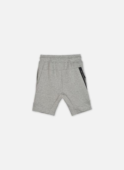 Vêtements Nike B Nsw Tch Flc Short Gris vue portées chaussures