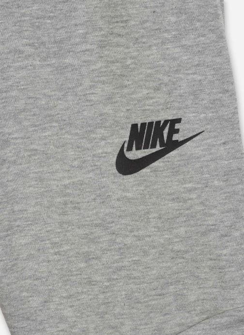 Vêtements Nike B Nsw Tch Flc Short Gris vue face