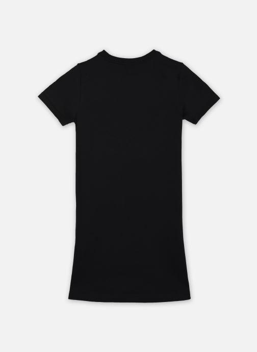 Vêtements Nike G Nsw Tshirt Dress Futura Noir vue portées chaussures