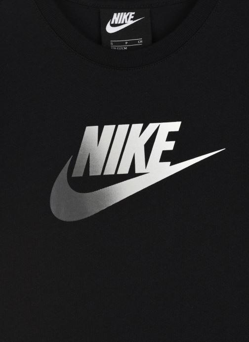 Vêtements Nike G Nsw Tshirt Dress Futura Noir vue face