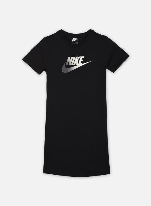 Vêtements Nike G Nsw Tshirt Dress Futura Noir vue détail/paire