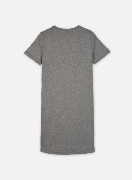 Vêtements Nike G Nsw Tshirt Dress Futura Gris vue portées chaussures