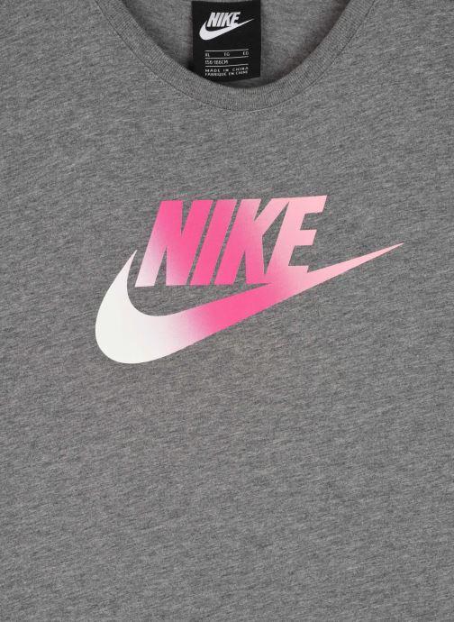 Vêtements Nike G Nsw Tshirt Dress Futura Gris vue face