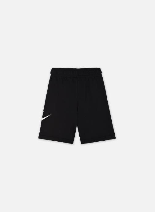 Vêtements Nike B Nsw Club + Hbr Short Ft Noir vue portées chaussures