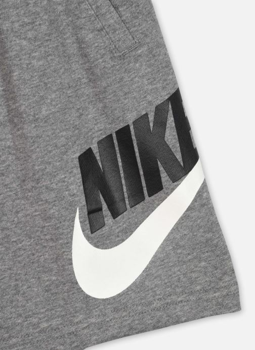 Vêtements Nike B Nsw Club + Hbr Short Ft Gris vue face