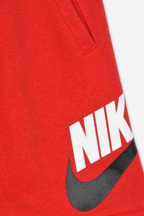 Vêtements Nike B Nsw Club + Hbr Short Ft Rouge vue face