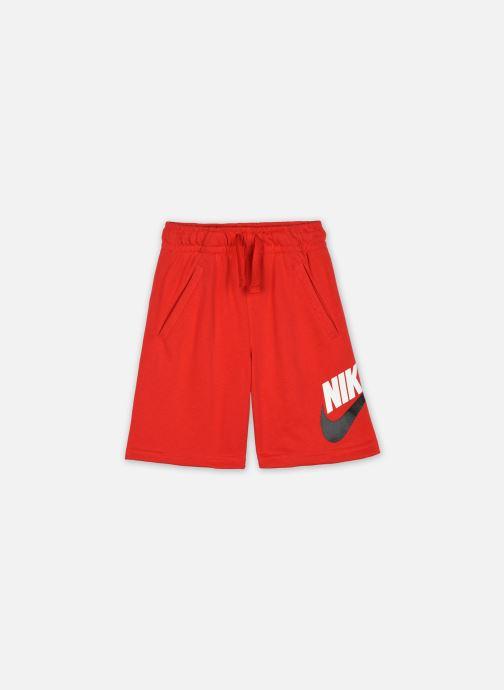Vêtements Nike B Nsw Club + Hbr Short Ft Rouge vue détail/paire