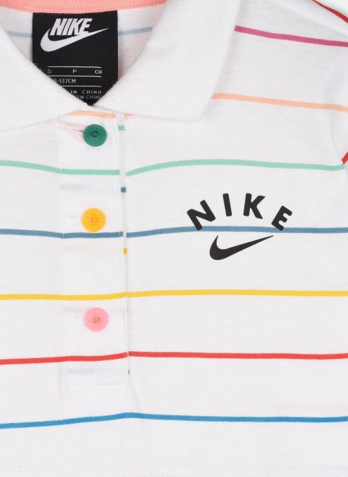 Vêtements Nike G Nsw Dress Polo Fb Blanc vue face