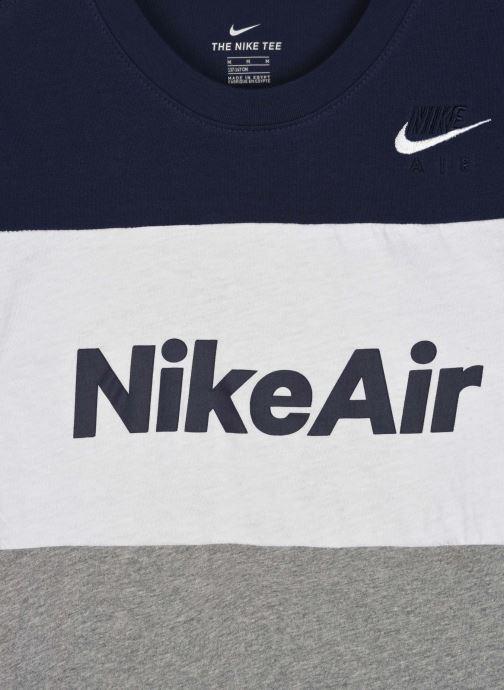 Vêtements Nike B Nsw Nike Air Tee Ss Gris vue face