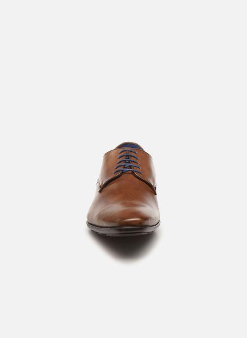 Schnürschuhe Azzaro ALEO braun schuhe getragen