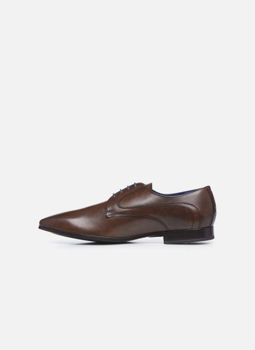 Zapatos con cordones Azzaro AUDRASI Marrón vista de frente