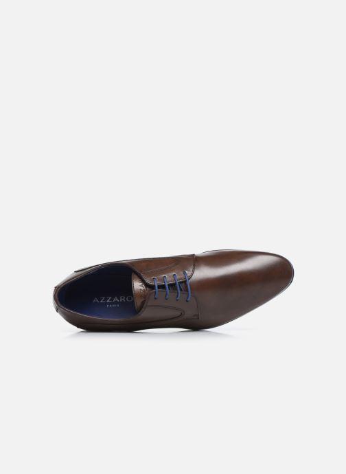 Zapatos con cordones Azzaro AUDRASI Marrón vista lateral izquierda