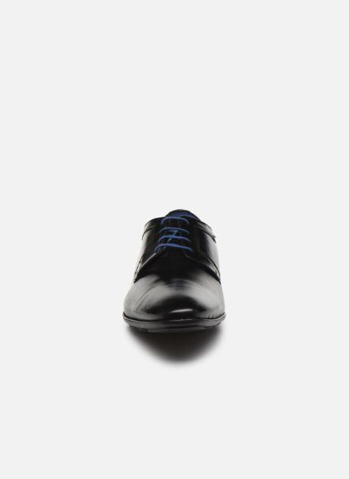 Scarpe con lacci Azzaro AVOLD Nero modello indossato