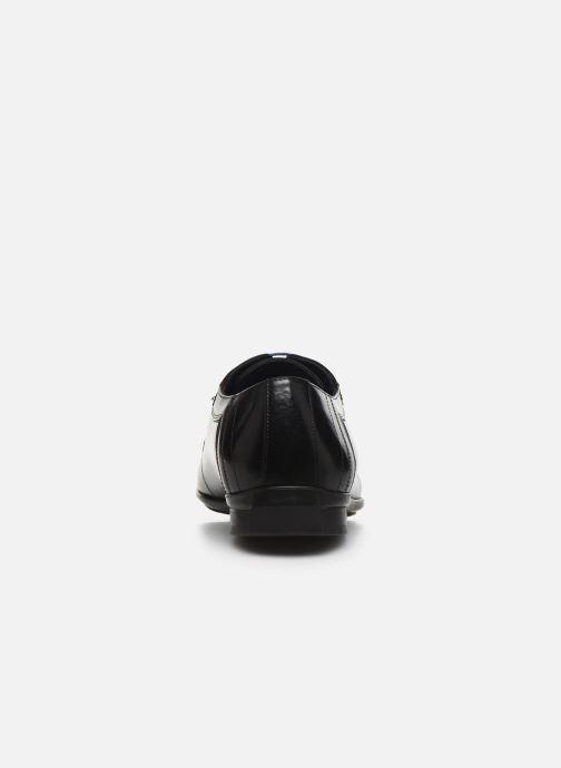 Zapatos con cordones Azzaro AVOLD Negro vista lateral derecha