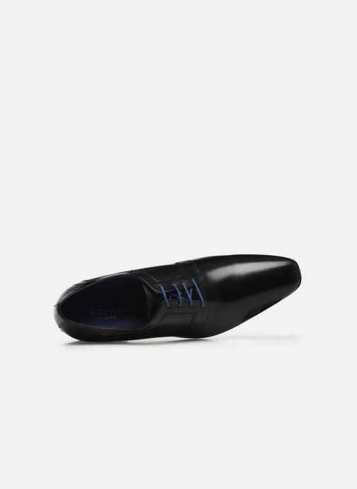 Zapatos con cordones Azzaro AVOLD Negro vista lateral izquierda