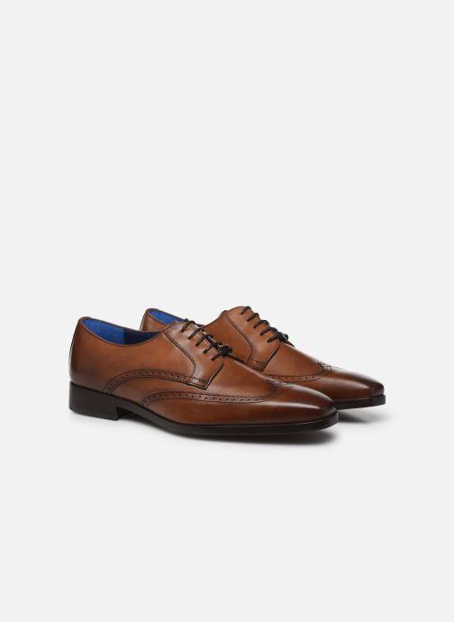 Zapatos con cordones Azzaro MOSAIC Marrón vista 3/4