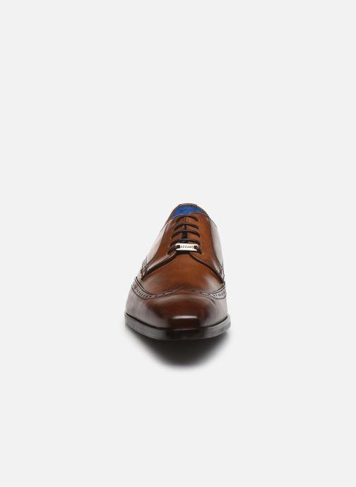 Zapatos con cordones Azzaro MOSAIC Marrón vista del modelo