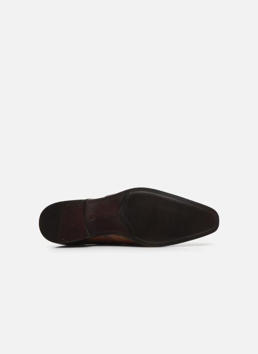 Zapatos con cordones Azzaro MOSAIC Marrón vista de arriba