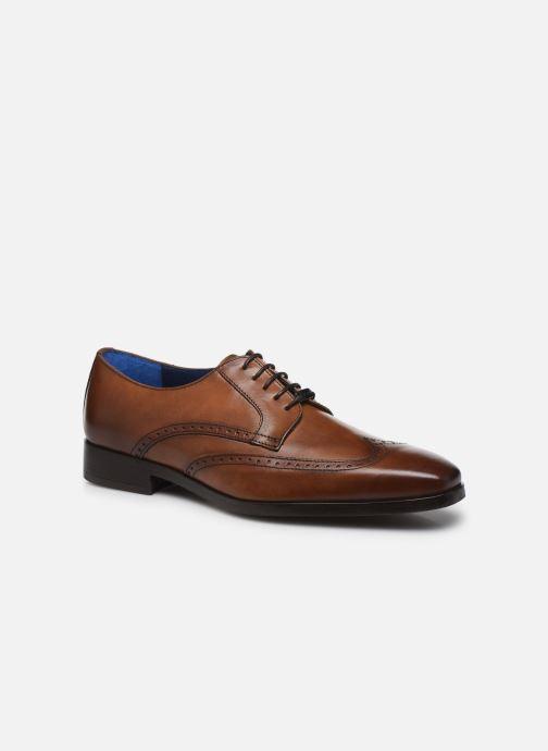 Zapatos con cordones Azzaro MOSAIC Marrón vista de detalle / par