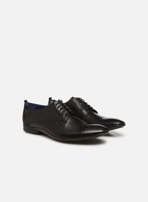 Zapatos con cordones Azzaro ODART Negro vista 3/4