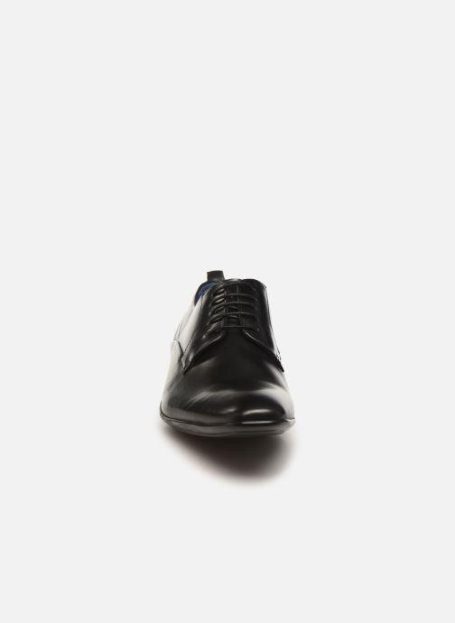 Zapatos con cordones Azzaro ODART Negro vista del modelo