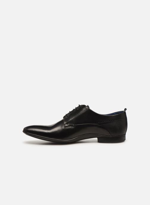 Zapatos con cordones Azzaro ODART Negro vista de frente