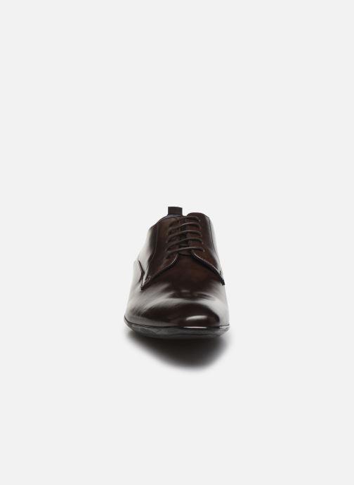 Zapatos con cordones Azzaro ODART Marrón vista del modelo