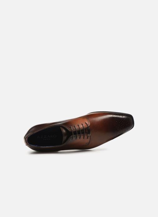 Zapatos con cordones Azzaro SEDAN Marrón vista lateral izquierda