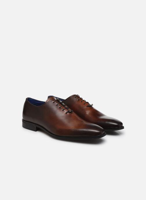 Zapatos con cordones Azzaro SORAINO Marrón vista 3/4