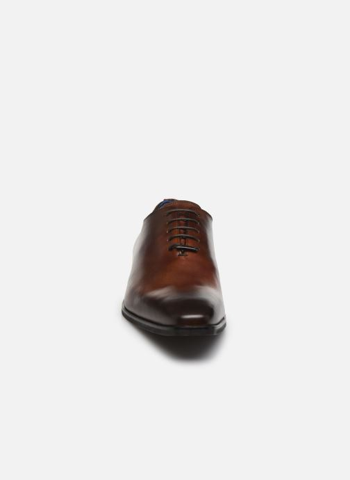 Chaussures à lacets Azzaro SORAINO Marron vue portées chaussures