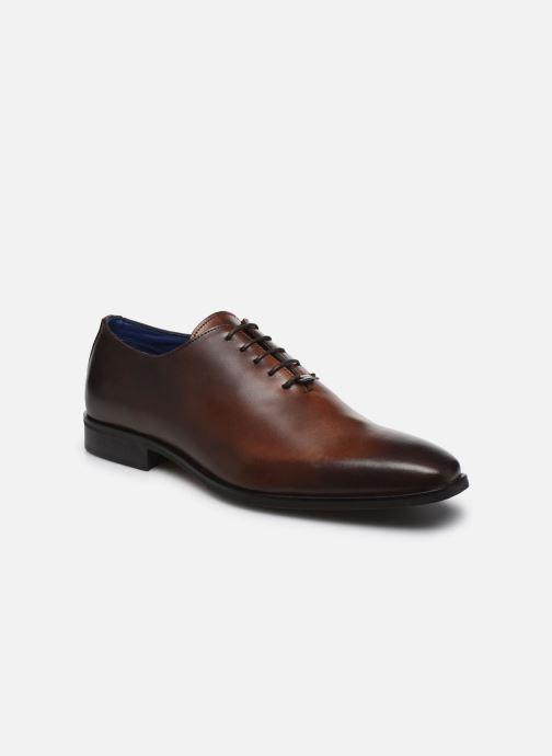 Zapatos con cordones Azzaro SORAINO Marrón vista de detalle / par
