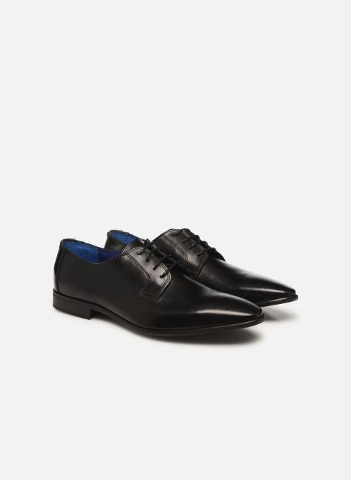 Zapatos con cordones Azzaro VICHOR Negro vista 3/4