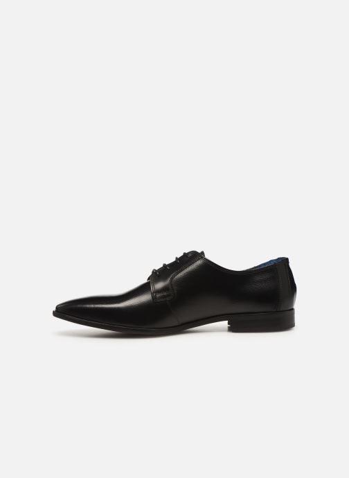 Zapatos con cordones Azzaro VICHOR Negro vista de frente
