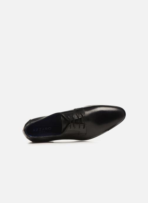 Zapatos con cordones Azzaro VICHOR Negro vista lateral izquierda